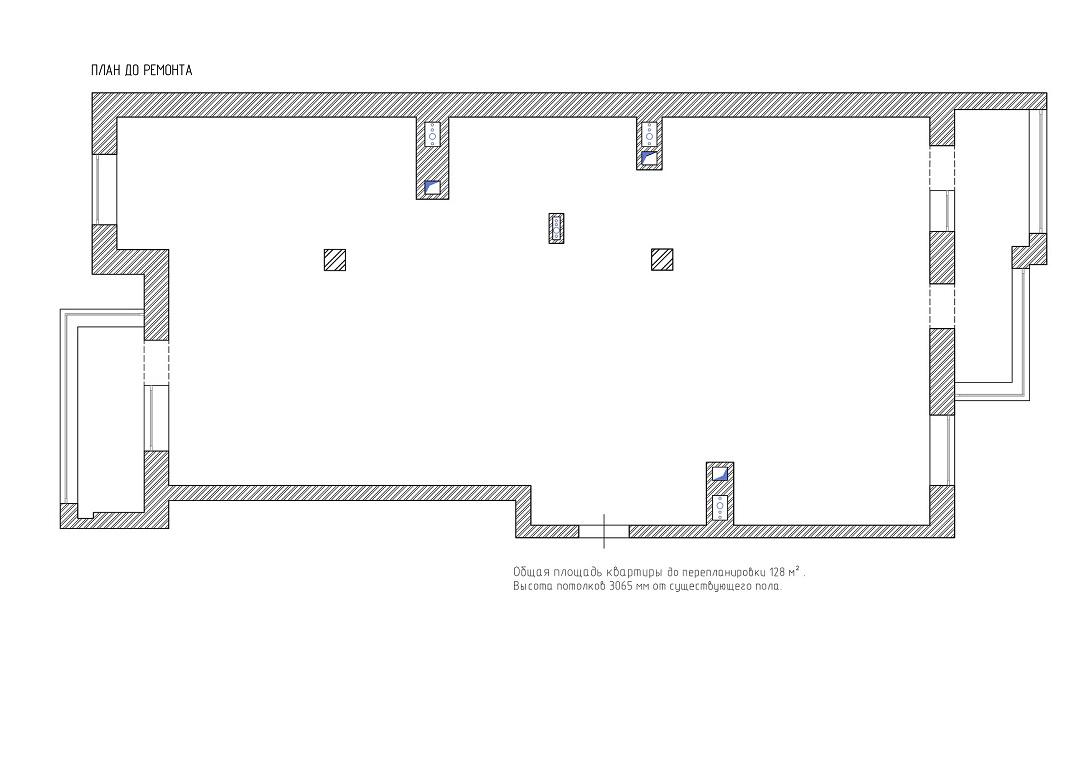 План до перепланировки ЖК Горки-8