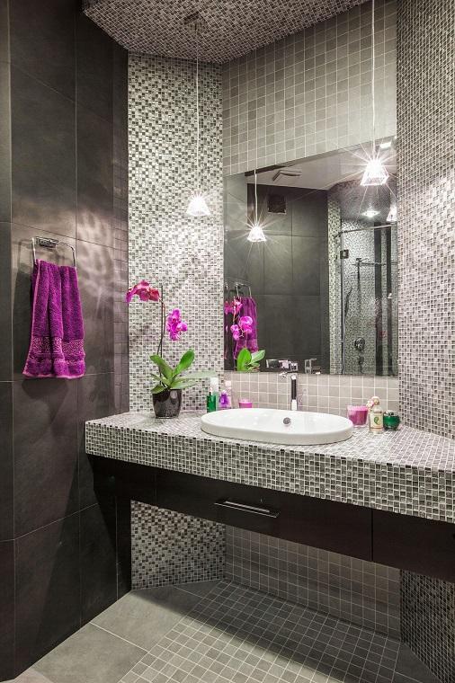 Ванная комната Сложносочиненный интерьер