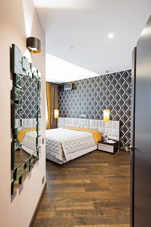 Спальня Сложносочиненный интерьер