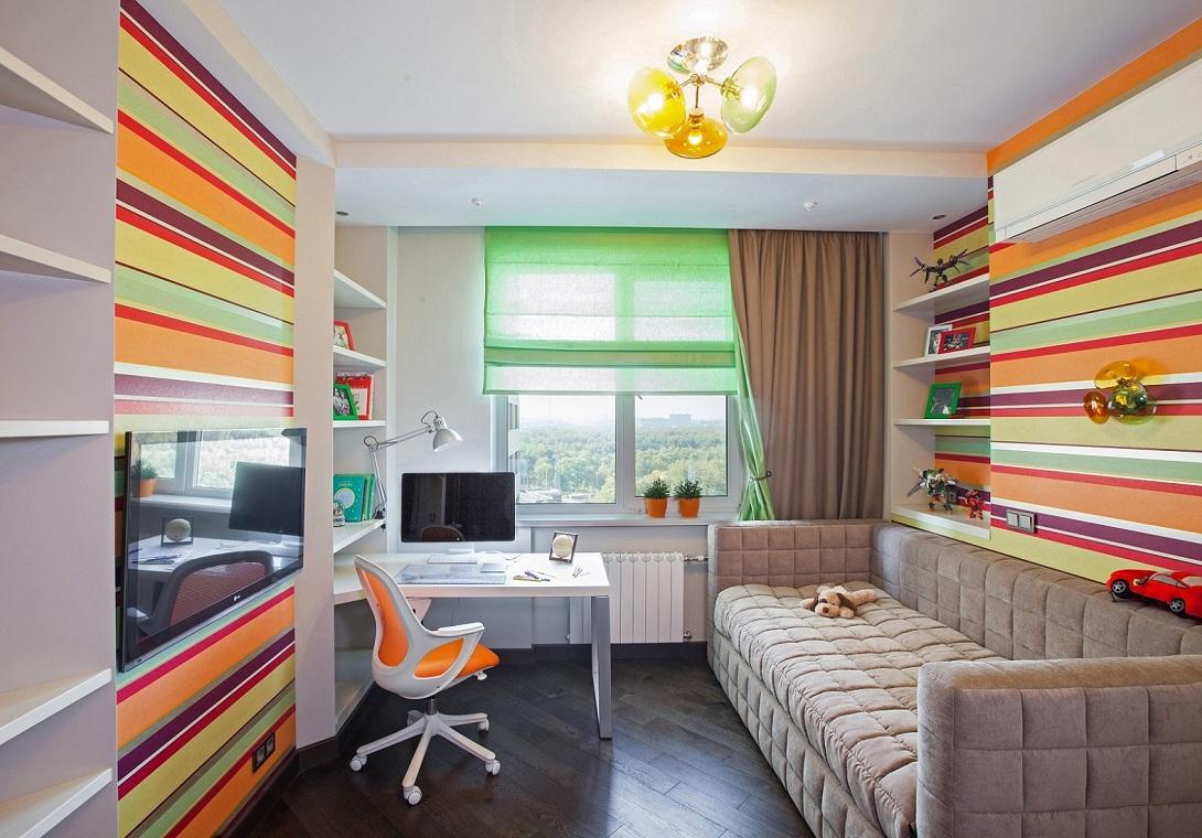 Детская комната Сложносочиненный интерьер