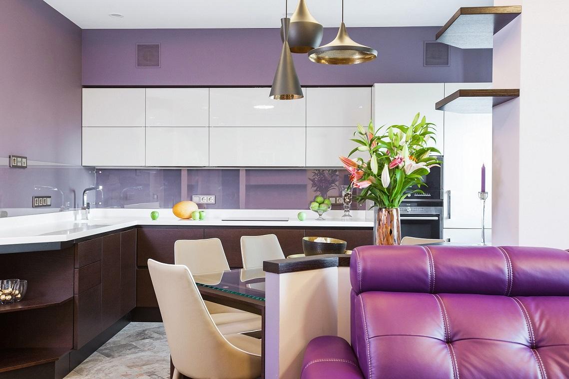 Кухня Сложносочиненный интерьер