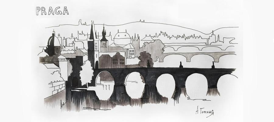 Путешествие в Прагу с Алёной Горской