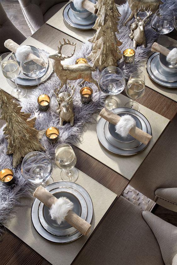 тарелки серебро